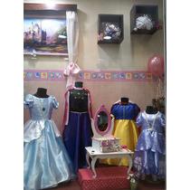 Vestidos De Princesas Disney Frozen Anna Elsa Sofia Rapunzel