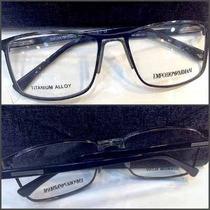 Armação Oculos Receituário Ea2007 6 Cores+ Presente