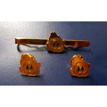 Lote - Traba Corbata Y 2 Pins (c.a.c.c.s.o.e)