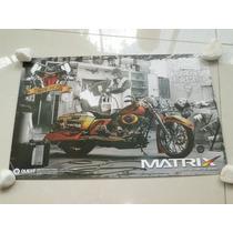 Decor Americano Moto Chopper Matrix Tinta Harley Custom Hd