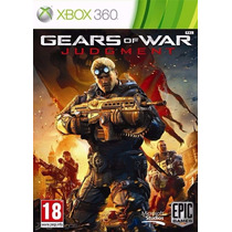 Gears Of War Judgment Xbox 360 Nuevo Y Sellado