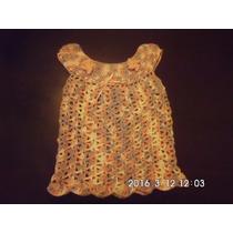 Preciosos Vestiditos En Crochet Para Bebés En Hilo O Lana
