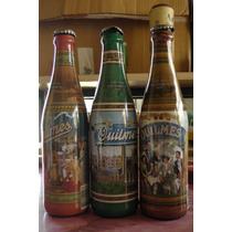 3 Botellas Quilmes - Edición Histórica