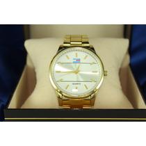 Relógio Tommy Hilfiger Feminino Dourado