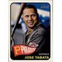 Bv Jose Tabata Topps Heritage 2014 #412