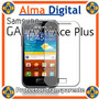 Lamina Protector Pantalla Transparente Samsung S7500 Ace Plu