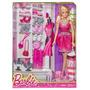 Barbie Original Con 6 Pares De Zapatos.nueva Mattel.