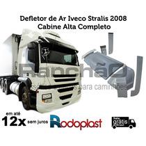 Defletor De Ar Completo Iveco Stralis 2008 Cabine Alta