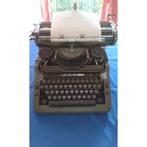 Maquina De Escribir Adler (1956) Alemana