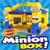 Minion Box 3d Garytoys Inflables Modelo 2016 En Super Promo!