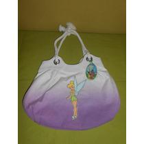 Bolsa Tinkerbell De Disney Store 37x27 Cms Campanita