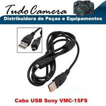 Cabo Usb 15fs Filmadora Sony Hdr- Cx105e Cx110 Cx130 Cx150