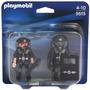 Retromex Playmobil 5515 Blister Policias Rescate Ciudad