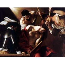 Lienzo Tela La Coronación De Espinas Arte Sacro Caravaggio