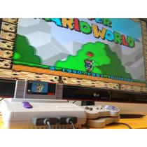 Super Nintendo Baby + Mario World + Brinde + Garantia
