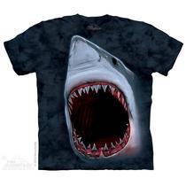 Camiseta Shark Bite/ Mordida Do Tubarao - The Mountain