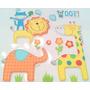 Figuras Decorativas En Goma Eva Para Cuarto Infantil - Selva