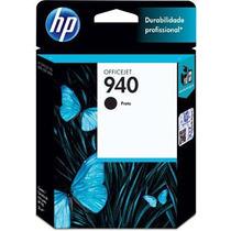 Hp 940 Preto C4902ab Hp 1 Un Cartucho De Impressora