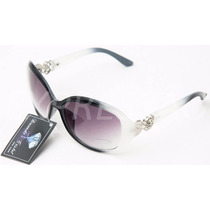 Óculos De Sol Feminino Modelo Boroquê Uv400 Frete Grátis
