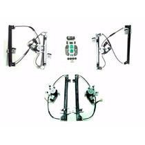Kit Vidro Eletrico Vw Gol G2 97/99 4 Portas Sensorizado