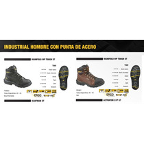 Botas Caterpillar - Cat Manifold-6 Steeltoe (marrón, Negra)