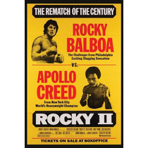 Posters Montado Madera Full Hd 30x20cm Afiches Rocky Pfi-001