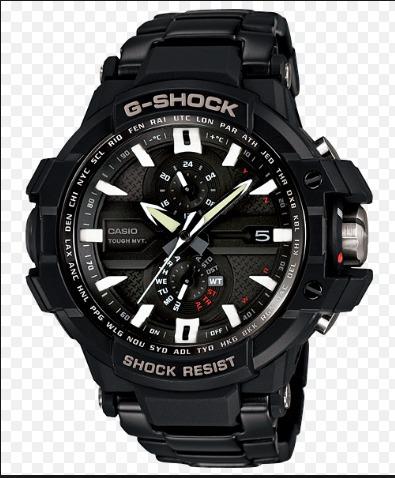 e97e7cc6138 Relogio Casio G-shock Gwa1000d-1a Gravitymaster Gwa-1000 Gw - R ...