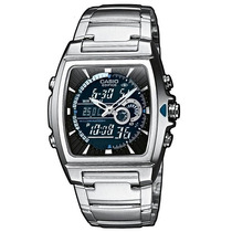 Reloj Casio Edifice Efa120 Antirayas Termometro De Lujo