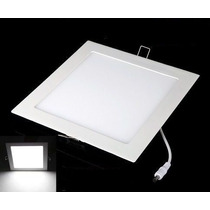 Kit 4 Painel Plafon Luminaria Embutir Led Slim Downlight 25w