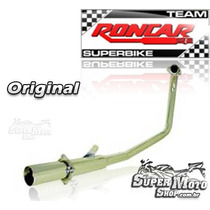 Curva Cromada Para Linha Coyote Rs / Ss / Trs - Cbx Twister
