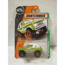 Enigma777 Matchbox Ford Bronco 4x4 Verde 118/125