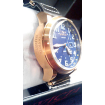 Invicta Relojes Aviator Reserve Leather Strap