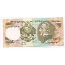 Uruguay Billete De 100 Nuevos Pesos Pick 62