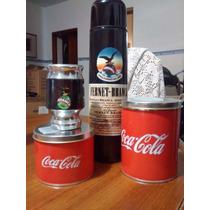 Set Matero Fernet Coca,termo 1l,mate,azucarera Y Yerbera.