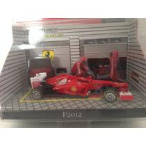 1/43 Ferrari F2012 Felipe Massa Miniatura Diorama F1 Burago