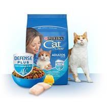 Alimento Croquetas Cat Chow Adultos Pescado Y Mariscos 20kg