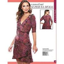 Vestido Avon Milao Estampa Animal Print