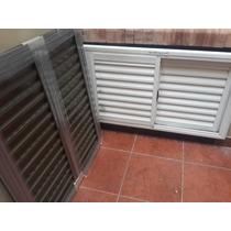 Celosia de aluminio negro para ventanas 1x1 zona caballito - Celosia de aluminio ...
