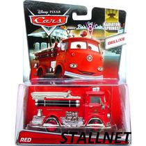 Disney Pixar Cars Ruivo Red Tenho Sally Fillmore Sheriff Rei