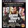 Grand Theft Auto 4 Complete Ed Ps3 Original Físico Disco Gta