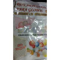 Red Para Globos ( 300 Globos Medida 2, 30 X 2 , 30 Mtr )
