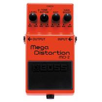 Pedal Boss Mega Distortion Md-2 Frete Gratis + B R I N D E