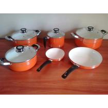 Set De Cocina De 6 Piezas En Cerámica Antiadherente