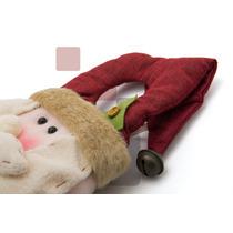 Boneco Papai Noel 45cm Enfeite D Porta P Decoração D Natal