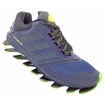 Tênis Adidas Springblade Drive 2015 Azul E Verde Limão