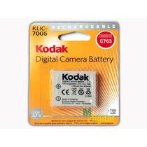Bateria Kodak Klic-7005 - Nova - Lacrada - Pronta Entrega