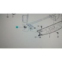 Placa Fixa Parachoque Traseiro Blazer Gm 15685215