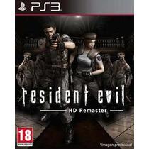 Resident Evil Hd Remaster Ps3 Promoção De Pré-venda