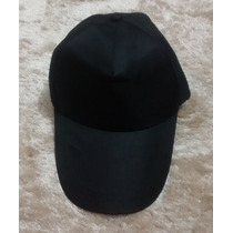 Boné Unissex Cap Chapéu Viseira Novo Ajustável Preto