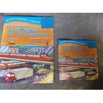 Ingles Para Ninos Los Medios De Transporte Libro Y Cd